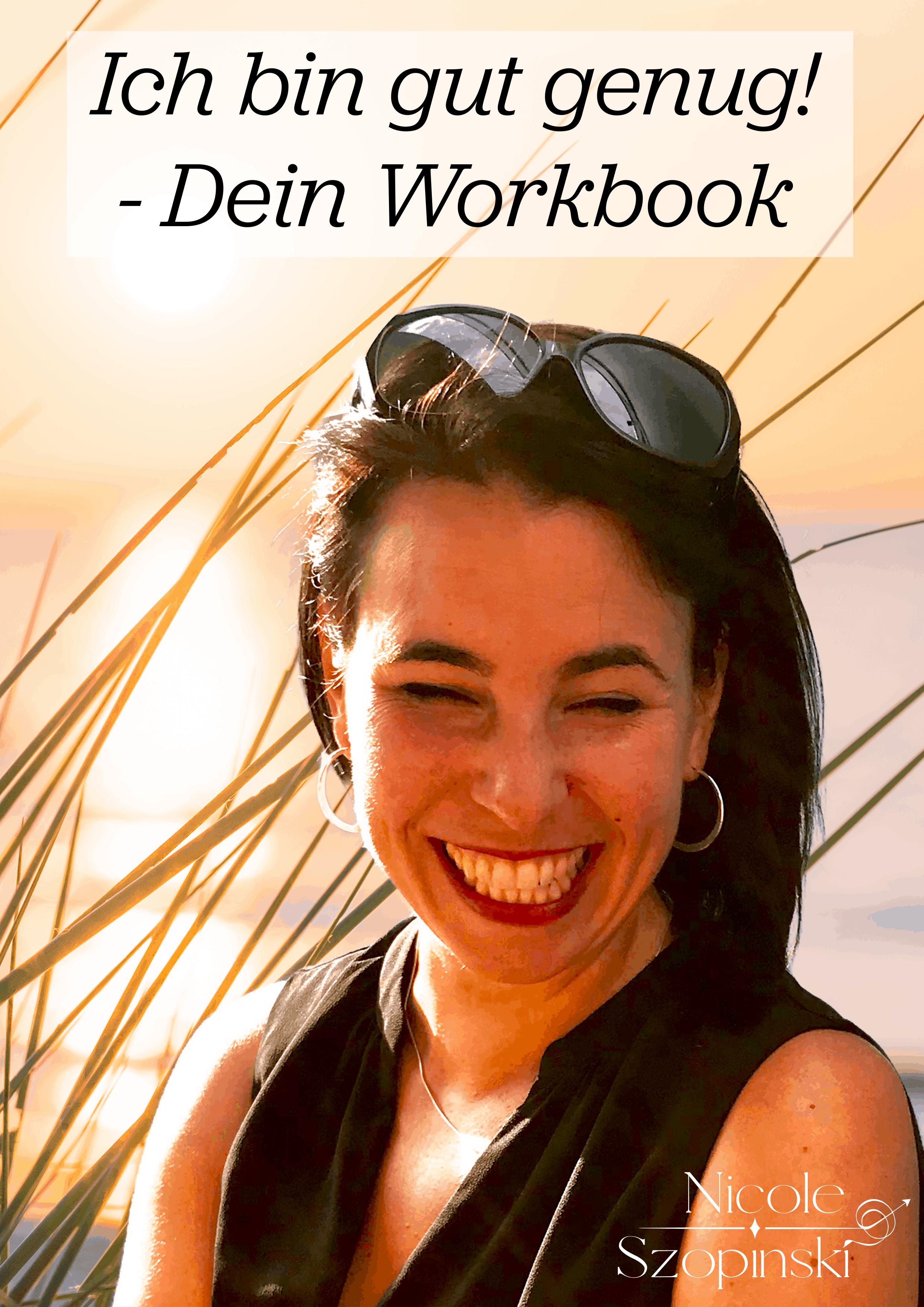 Ich bin gut genug - Workbook Cover